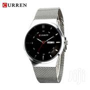 Curren Silver Stainless Steel Watches With Date and Day Display. | Watches for sale in Nairobi, Nairobi Central