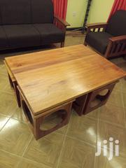 Coffee Table With Its Four Stools | Furniture for sale in Nairobi, Ngando