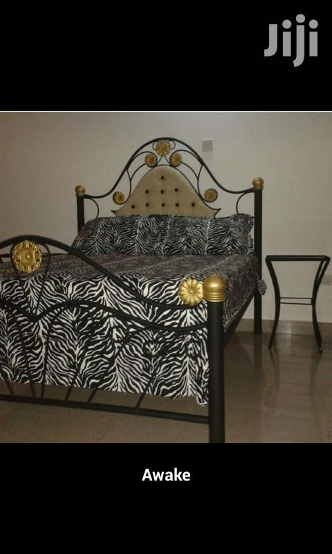 Head Leather Bed Size 6