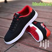 Canvas Shoes Black Red | Shoes for sale in Nairobi, Parklands/Highridge