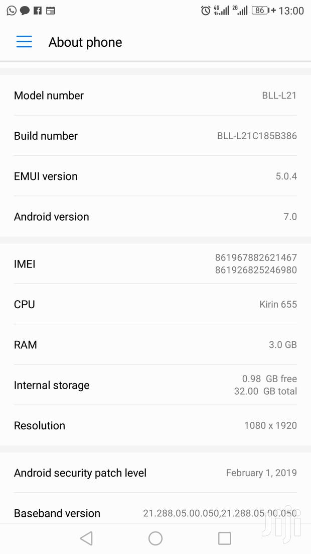 Archive: Huawei Honor 6X 32 GB Gold