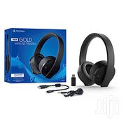Sony Playstation Gold Wireless Headset 7.1 Surround Sound PS4   Video Game Consoles for sale in Nairobi, Nairobi Central