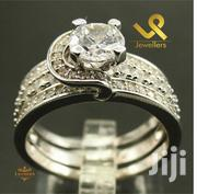 Cojoined Ladies Genuine Silver Engagement and Wedding Double Ring | Jewelry for sale in Nairobi, Nairobi Central