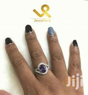 December Birthstone Tanzanite On Genuine Silver Engagement Ring | Jewelry for sale in Nairobi, Nairobi Central