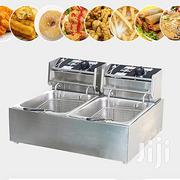 Commercial Deep Fryer Twin Frying Basket Chip Cooker 5000W | Restaurant & Catering Equipment for sale in Nairobi, Nairobi Central