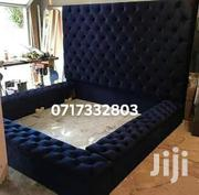 Modern Deep Buttonned Bed | Furniture for sale in Nairobi, Ngara