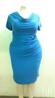 Poly Ruched Dress...Size 16/18 | Clothing for sale in Nairobi, Kilimani