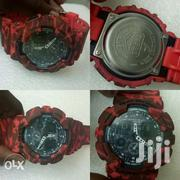 G-shock Red Japan Mov | Watches for sale in Homa Bay, Mfangano Island