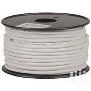 4 Core Alarm Cable White For Burglar Security System | Electrical Equipments for sale in Nairobi, Nairobi Central