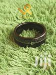 Black Tungsten Meteolite Men Wedding Ring With Centre Arrow | Jewelry for sale in Nairobi Central, Nairobi, Kenya