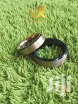 6mm Blue Bevelled Edges Unisex Tungsten Carbide Wedding Rings | Jewelry for sale in Nairobi Central, Nairobi, Nigeria