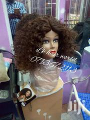 Semi Human Curly Lace Wig. | Hair Beauty for sale in Nairobi, Nairobi Central