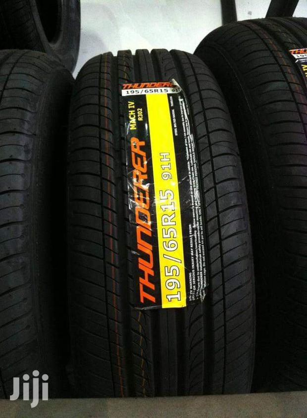 195/65/15 Thunder Tyres Is Made In Thailand