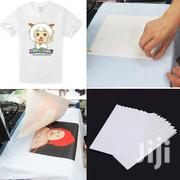 Sublimation Dark Light Transfer Paper A4 | Printing Equipment for sale in Nairobi, Nairobi Central