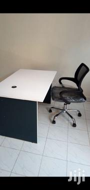 A. Office Desk 1.2mtr Without Drawer+Chair Ksh 11950 Free Delivery   Furniture for sale in Nairobi, Nairobi West