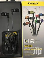 AWEI Es900i Bass Earphones Wired Es-900i   Accessories for Mobile Phones & Tablets for sale in Nairobi, Nairobi Central