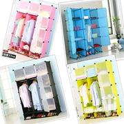 Portable Plastic Wardrobes - 3 Columns | Furniture for sale in Nairobi, Nairobi Central