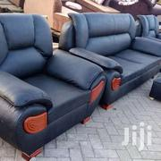 Black Sofa Set 7 Seater | Furniture for sale in Nairobi, Embakasi