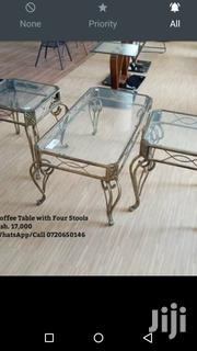 Coffee Table Plus Stool | Furniture for sale in Nairobi, Nairobi Central