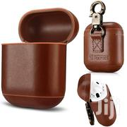 Airpods Genuine Leather Vintage Shockproof Protective Cover Case | Accessories for Mobile Phones & Tablets for sale in Nairobi, Nairobi Central