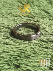 Unisex Bevelled Edges Tungsten Wedding Ring Band | Jewelry for sale in Nairobi, Nairobi Central