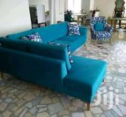 Grab This Classy L-seat And A Wing Chair | Furniture for sale in Nairobi, Kileleshwa