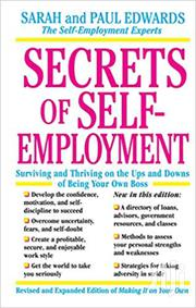 Secrets of Self Employment-Sarah and Paul Edward | Books & Games for sale in Nairobi, Nairobi Central