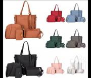 Stylish 4 in 1 Lady's Hand Bags of PU Leather | Bags for sale in Kisii, Kisii Central