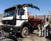 Clean Mercedes Benz Double Diff Truck With 8 Ton Crane | Heavy Equipments for sale in Mombasa, Changamwe