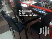 Black 4 Seater Dinning Table | Furniture for sale in Nairobi, Imara Daima