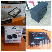 Pioneer Woofer / Ads 1200 Watts Booster /Tweeters+Boschmann Equalizer | Audio & Music Equipment for sale in Nairobi, Nairobi Central
