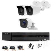 3 CCTV Cameras Security Surveillance Complete System Kit Package | Cameras, Video Cameras & Accessories for sale in Nairobi, Nairobi Central