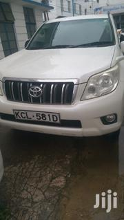 Toyota Land Cruiser Prado 2011 White | Cars for sale in Mombasa, Tudor