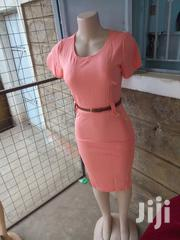 Peach Official Cotton Dress | Clothing for sale in Nairobi, Nairobi Central