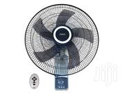 "MIKA MFW163R/WB Wall Fan Smart 16"" With Remote - White Black 