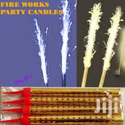 Sparkling Party Candles With Fire Works From 100 Depending on Size | Home Accessories for sale in Nairobi, Nairobi Central