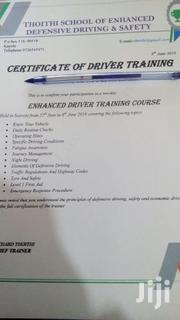 Enhanced Defensive Driving Instructor | Classes & Courses for sale in Nairobi, Komarock