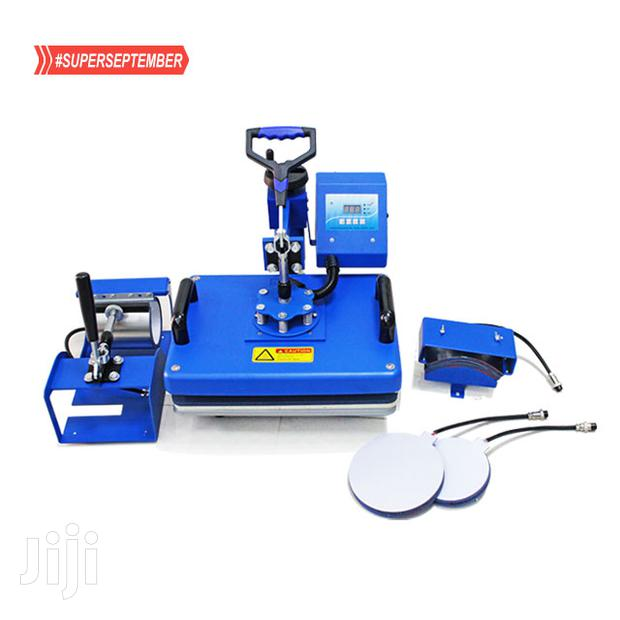 Approved 5 In 1 Combo Heat Press Machine, Sublimation Machine