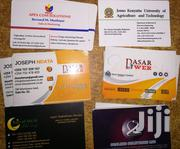 Business Cards Printing | Computer & IT Services for sale in Nairobi, Nairobi Central