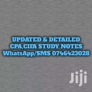 UPDATED CPA STUDY NOTES(Kasneb Approved) | Books & Games for sale in Nairobi, Kawangware