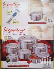 Heavy Signature 6 Set Hotpot With Free Gift | Home Appliances for sale in Nairobi, Lindi