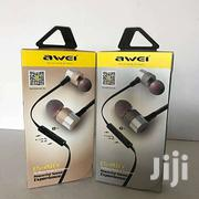 AWEI ES - 20TY 3.5MM Plug Hifi Music Earbud Headphones   Accessories for Mobile Phones & Tablets for sale in Nairobi, Nairobi Central