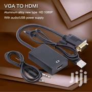 VGA Male To HDMI Female Converter Adapter Cable With  Audio 1080p | Accessories & Supplies for Electronics for sale in Nairobi, Nairobi Central