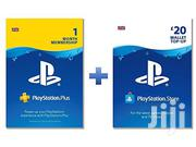 Playstation Plus Gift Cards | Video Game Consoles for sale in Nairobi, Nairobi Central