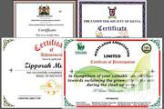Certificates Printing & Design | Manufacturing Services for sale in Nairobi, Nairobi Central