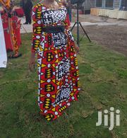 Red White And Yellow African Print Dress. | Clothing for sale in Nairobi, Nairobi Central