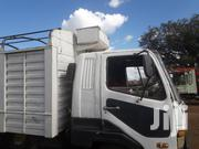 Mitsubishi Fighter 1996 White | Trucks & Trailers for sale in Nyeri, Karatina Town