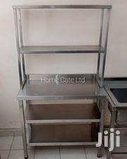 Stainless Steel Worktop Table With Overshelf | Furniture for sale in Nairobi, Embakasi