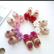 Flowered Open Shoes | Babies & Kids Accessories for sale in Nairobi, Embakasi