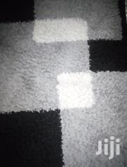 Black And White Fluffy Floor Carpet. 4 By 6 | Home Accessories for sale in Nakuru, Njoro